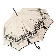 Pont des Arts Cream Umbrella