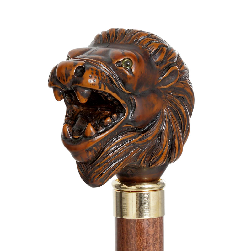 Guy de Jean Lion Head Umbrella