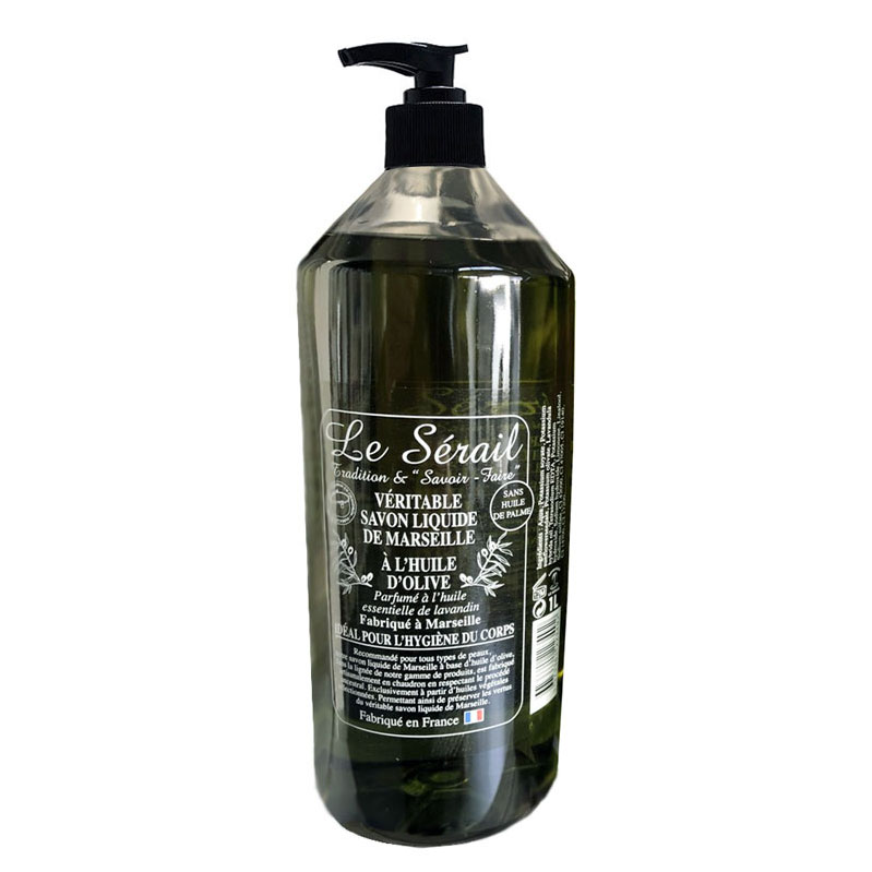 1ltr Olive Oil Liquid Soap/Body Wash with Pump