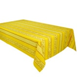 Yellow French Provincial Tablecloth- Rectangle