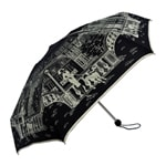 Paris City Walk Mini Topless Black Umbrella