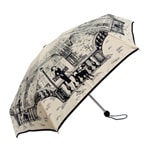 Paris City Walk Mini Topless Cream Umbrella