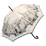 Paris City Walk Cream Umbrella