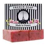 250g Parisian Crushed Rose Petals Soap