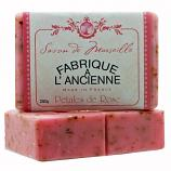 250g Fabrique Crushed Rose Petals Soap