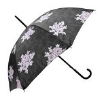 Chantal Thomass Grey Umbrella with Pink Flowers