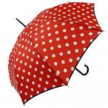 Le Parapluie Français Pois Red Umbrella