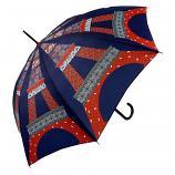 Le Parapluie Français Tour Eiffel Blue Umbrella