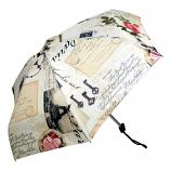 Paris Retro Folding Umbrella