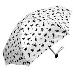 Playful Cats Mini Umbrellas-White