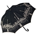 Pont des Arts Black Umbrella