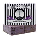 Crushed Lavender Exfoliating French Soaps