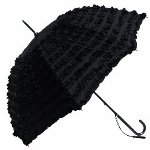 Guy de Jean Umbrella - Black Marquise